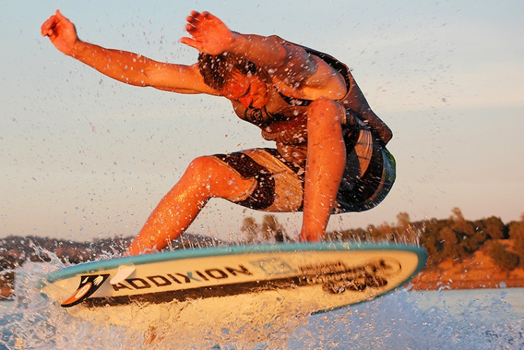 Trevor Miller: ready to ride those wakes | Photo: Day 1 Wake