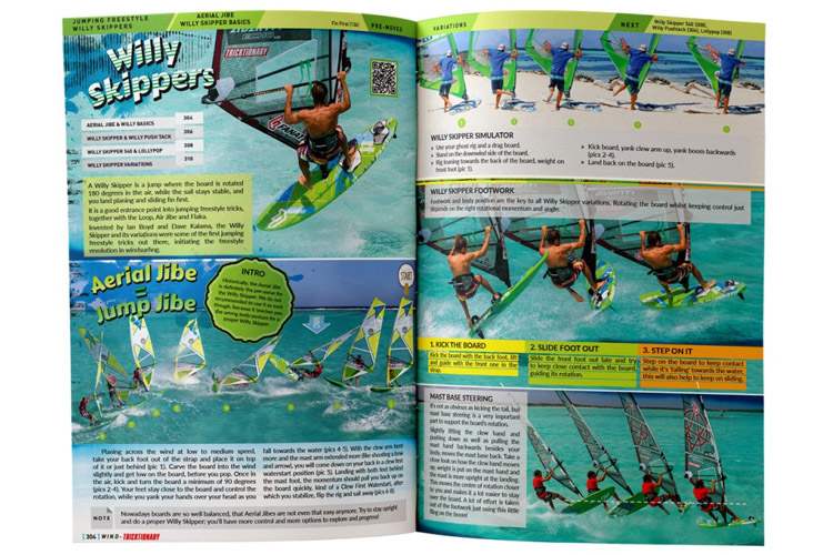 Tricktionary 3: Windsurfing Bible: 488 pages of detailed descriptions and illustrative photos