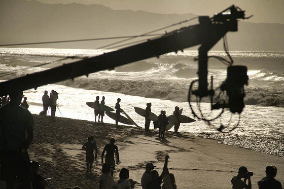 Triple Crown of Surfing: broadcasted to 200 million homes