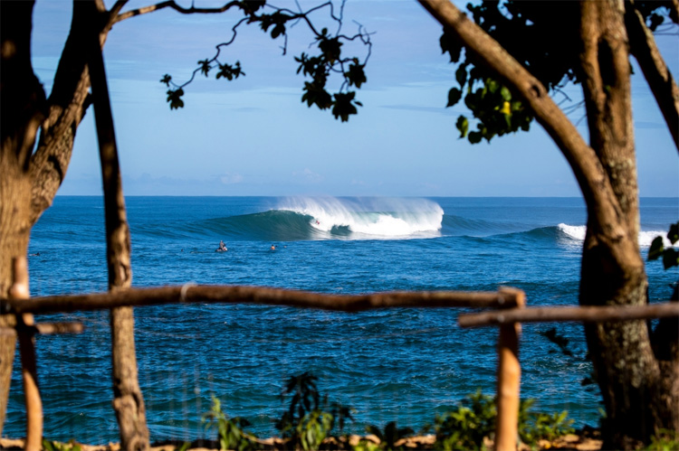 Triple Crown of Surfing: the Hawaiian event series takes place in the Seven Mile Miracle | Photo: Heff/WSL