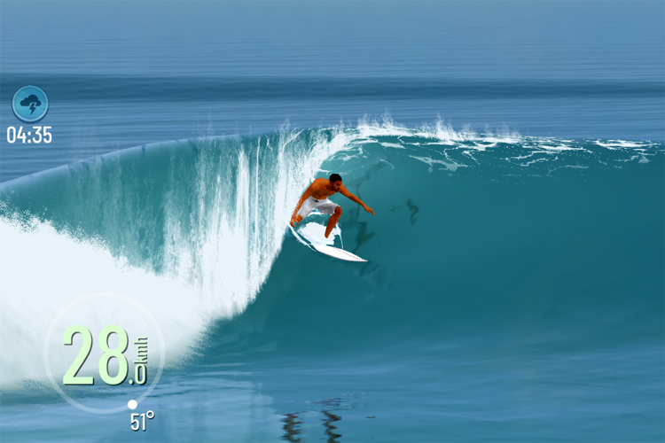 True Surf: a realist mobile surfing game