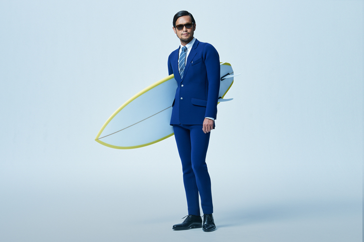 The wetsuit for business meetings