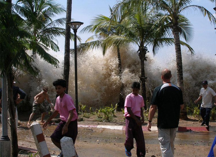 Thailand, 2004: the country was hit by the most powerful tsunami of all time | Photo: Creative Commons