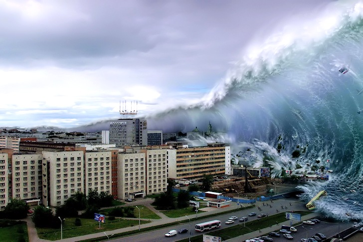 Tsunami: waves of death