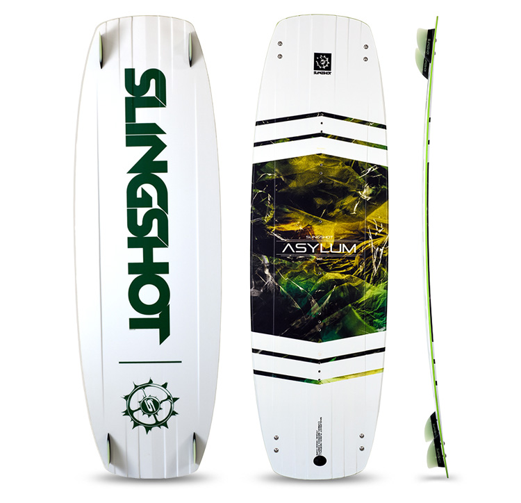 The Twin-Tip Kiteboard