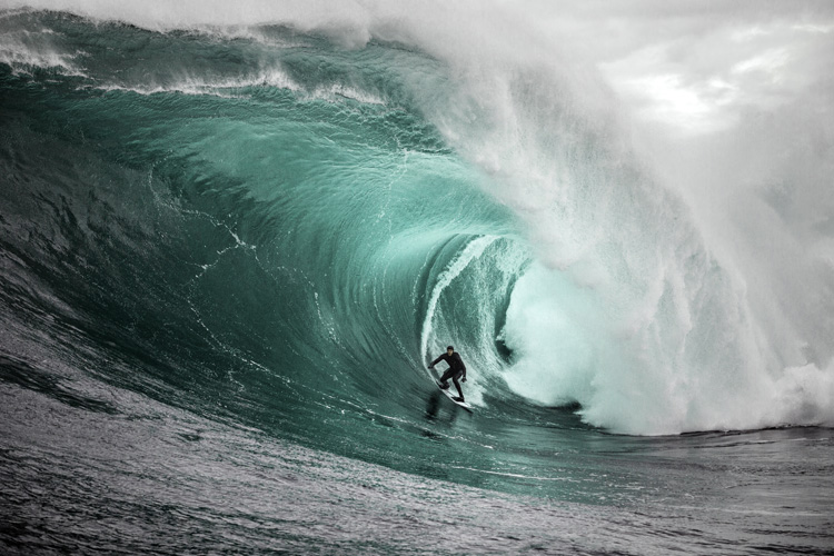 Tyler Hollmer-Cross: he was invited to challenge fear at Shipstern Bluff | Photo: Chisholm/Red Bull