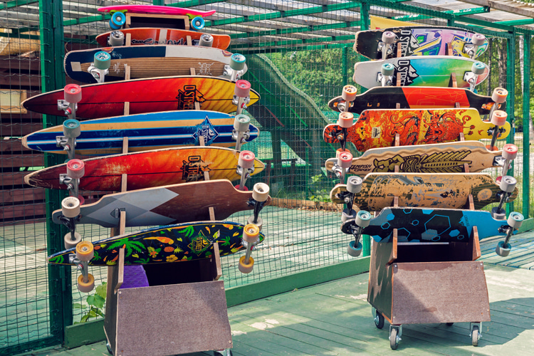 Skateboarding: there are many different types of skateboards | Photo: Shutterstock