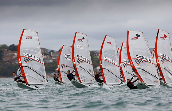 UKWA National Windsurfing Championships: the groms are on fire