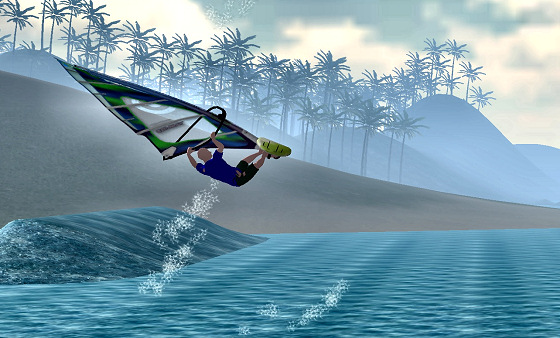 Ultimate Windsurf Game: air stoke in your computer