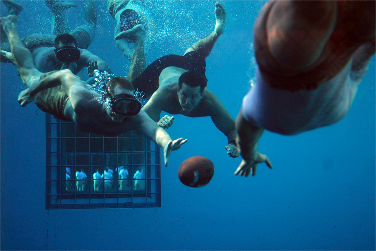 Underwater football: an unusual version of soccer | Photo: Creative Commons