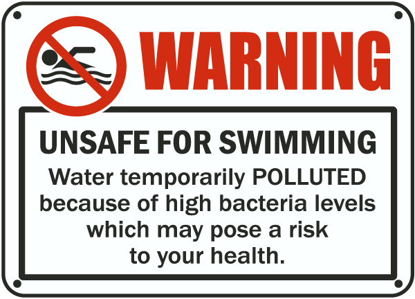 Unsafe For Swimming