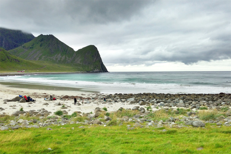 Unstad Beach: the most famous surf spot in Scandinavia | Photo: Creative Commons
