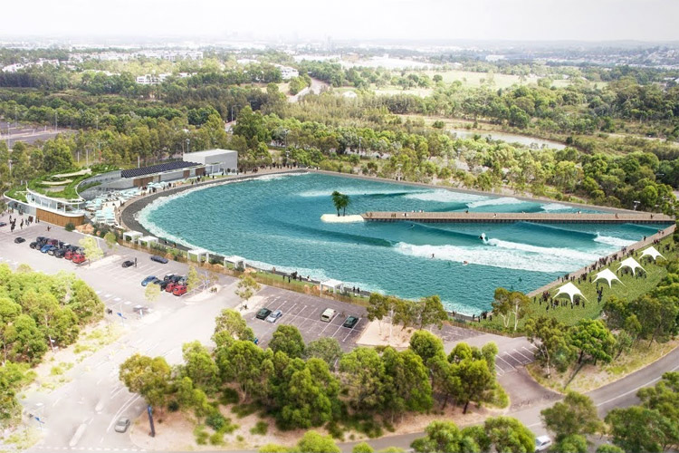 Urbnsurf Sydney: coming to the Olympic Parl by summer 2019 | Photo: Urbnsurf