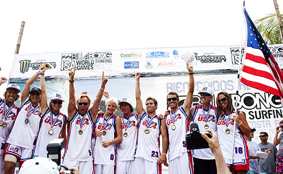 USA wins the 2009 ISA World Surfing Games