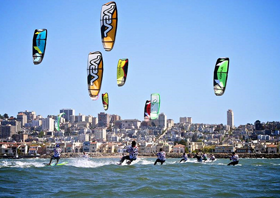 North American Kiteboard Racing Championship 2013: watch the ferries