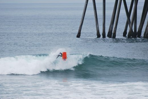 US Open of Bodyboarding: watch out, it's the pier
