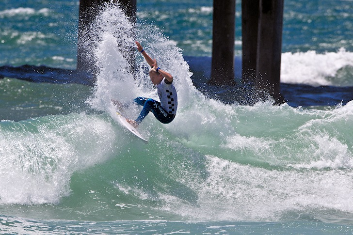 US Open of Surfing: we miss that pier | Photo: ASP/Rowland