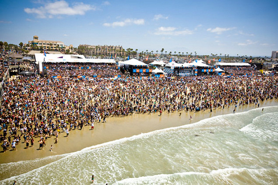 US Open of Surfing: hope the tide's not coming in