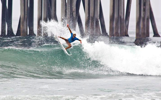US Open of Surfing: California, surfers and the pier