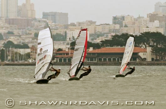 US Windsurfing National Championships: tight sailing