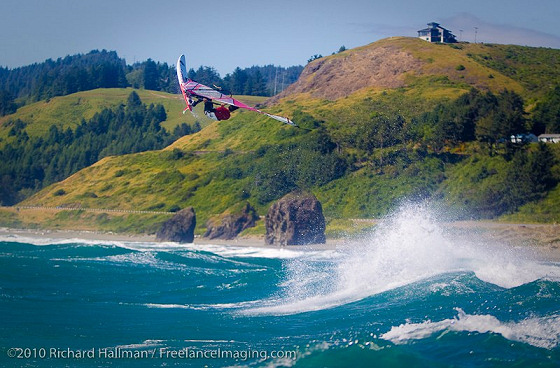 American Windsurfing Tour: high jumps by the highest VIPs
