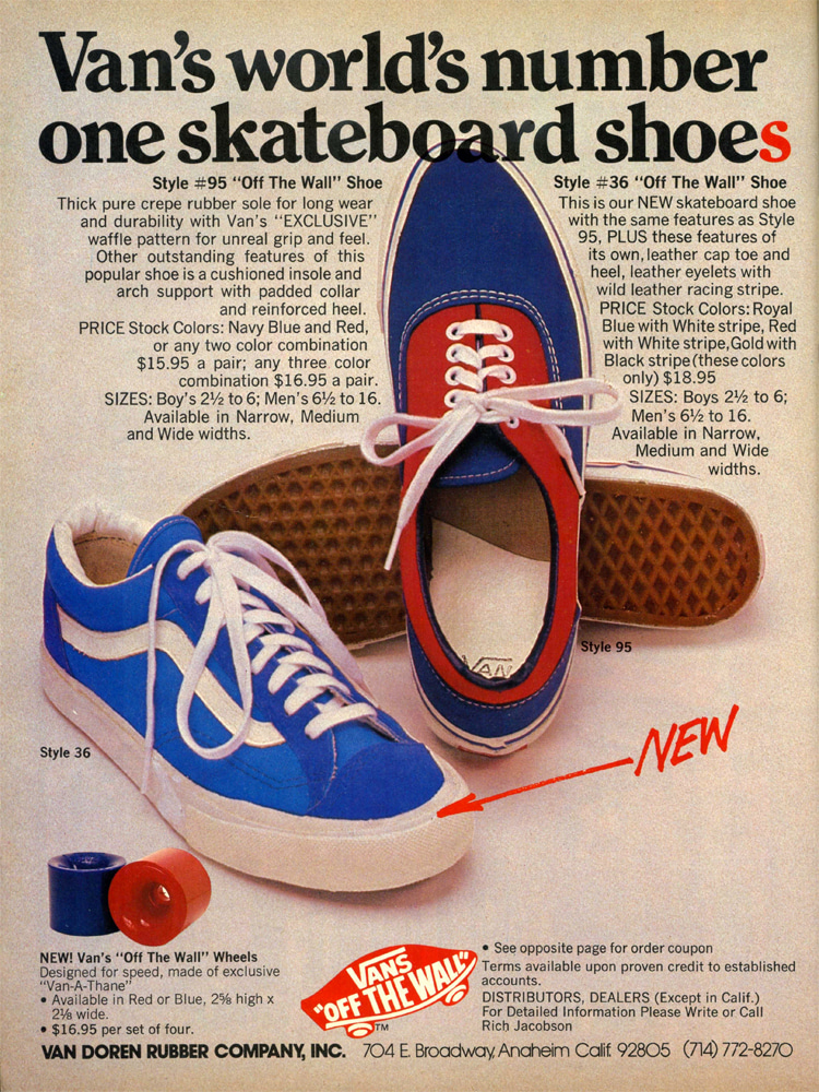 of Vans, the ultimate skate shoe company