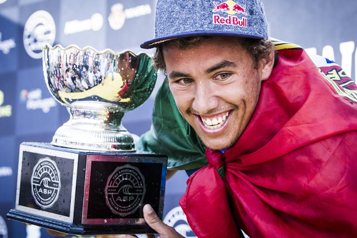 Vasco Ribeiro: making history for Portugal | Photo: ASP/Poullenot