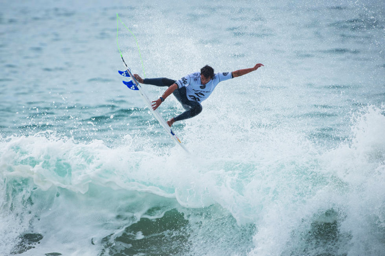 Vasco Ribeiro: a junior champion knows what he's doing | Photo: Poullenot/WSL