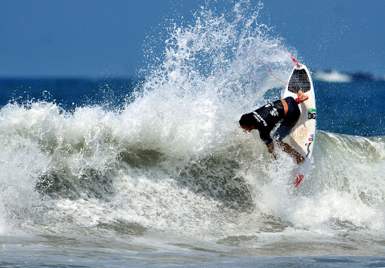 Vasco Ribeiro: he wants the junior surfing title
