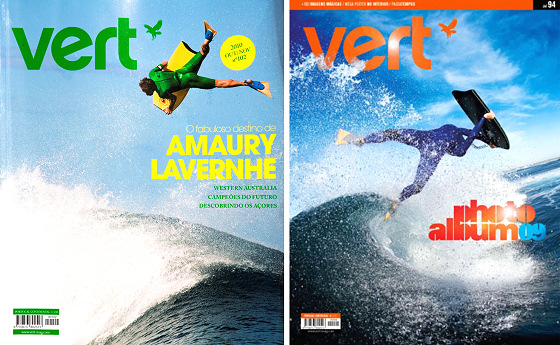 Vert: one of the oldest bodyboarding publications in the world