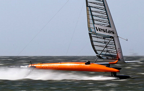Vestas Sailrocket 2: speed DNA