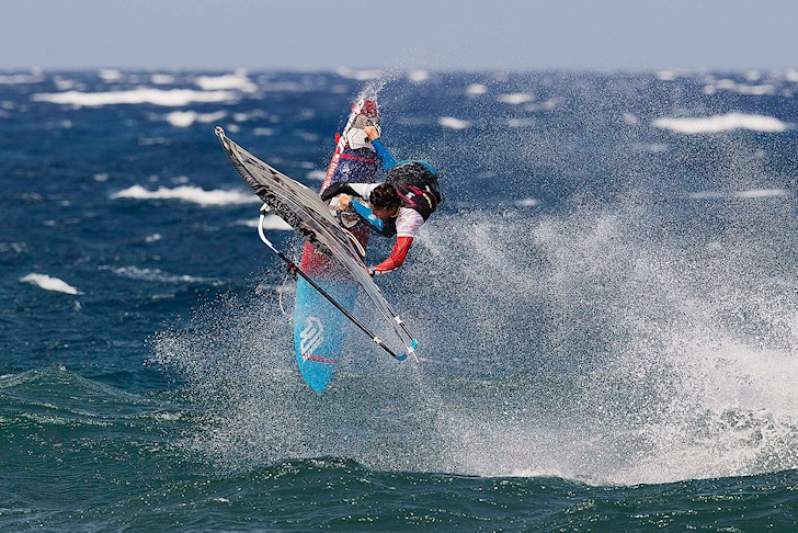 Victor Fernandez: fifth title at Pozo | Photo: Carter/PWA World Tour