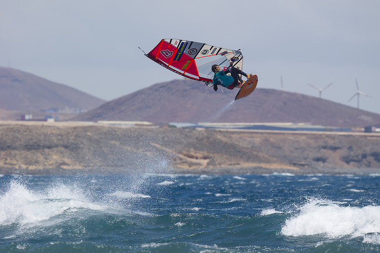 Victor Fernandez: a top 3 finisher in Pozo Izquierdo since 2006 | Photo: Carter/PWA