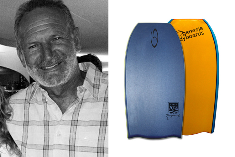 António Vilela: he co-founded Genesis Bodyboards in 1984