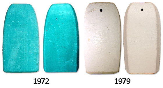 Vintage Bodyboards: the Rob Beaton collection