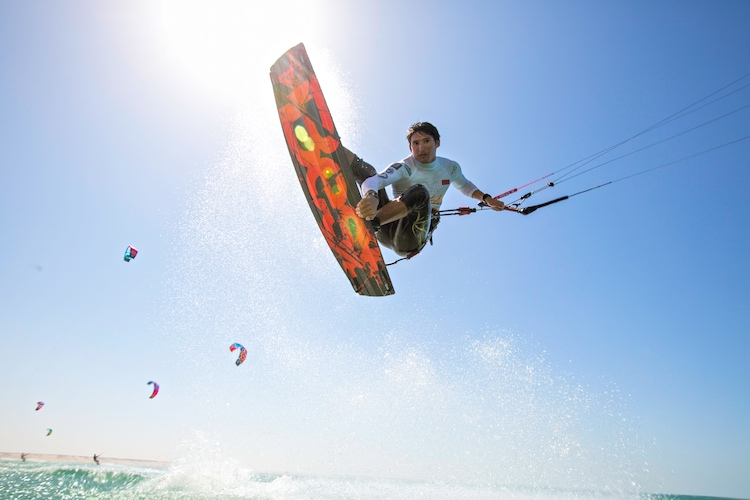 Virgin Kitesurf World Championships: Richard Branson has taken over | Photo: Red Bull