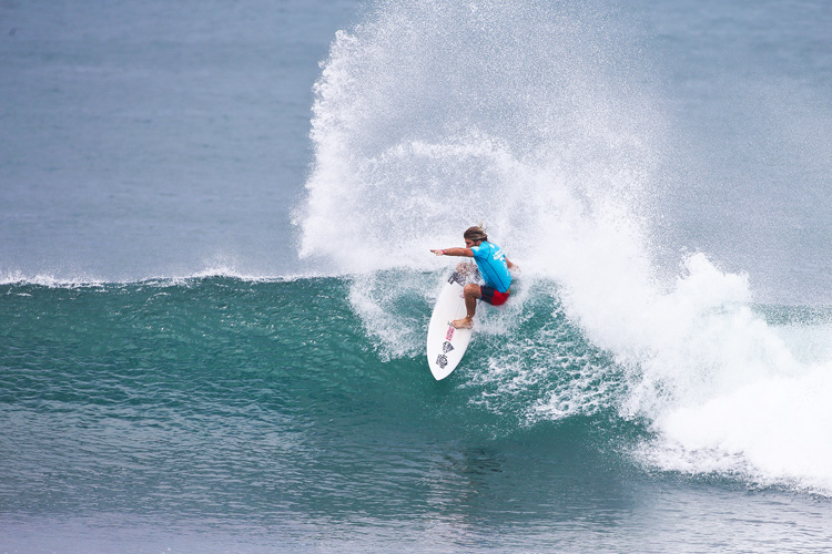 Wade Carmichael: victorious at Haleiwa | Photo: Masurel/WSL