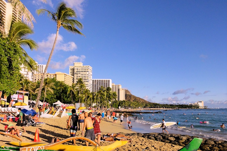 Waikiki Beach, Hawaii: the family surfing destination
