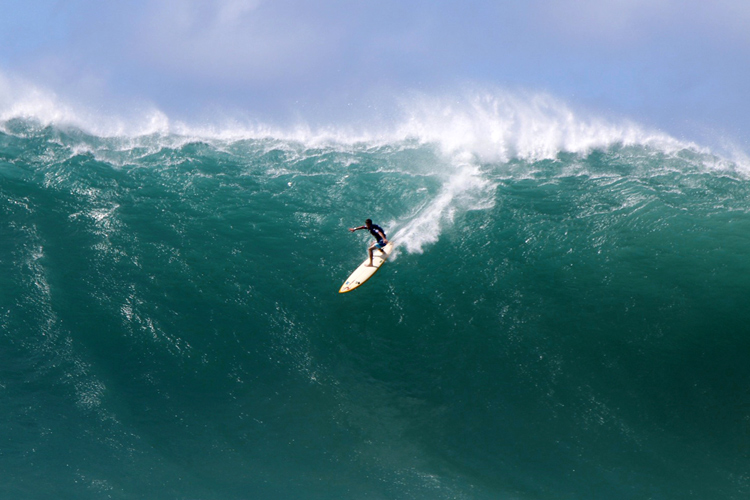 Waimea Bay: one of the biggest waves in the world | Photo: Noyle/WSL