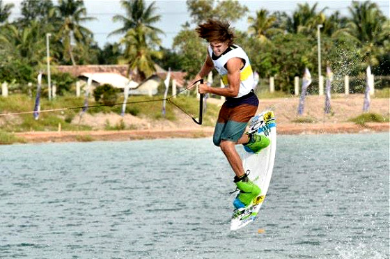 Palembang Waterski and Wakeboard World Cup 2013: stars doing their job
