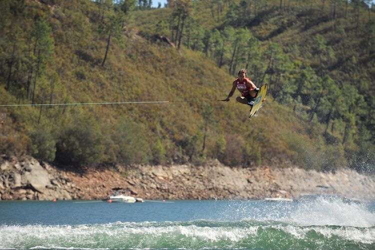 Ferreira do Zezere: Portugal's ultimate wake spot | Photo: WWA