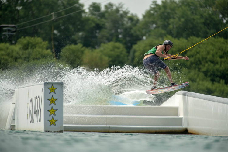 2018 WWA Wake Park National Championships: plenty of action at Quarry Cable Park | Photo: WWA