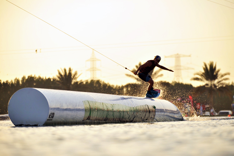 2015 Wake Park World Championships: Al Forsan is a splendid wake venue | Photo: WWA