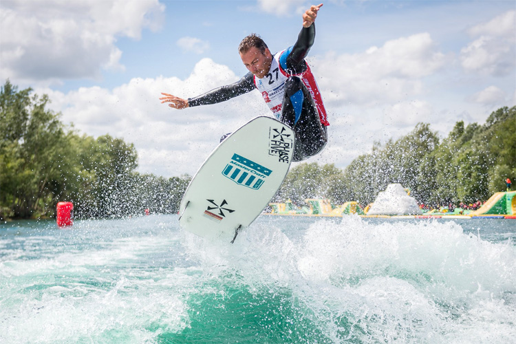 2019 Nautique Wakesurf Series: the London stop was a huge success | Photo: WWA
