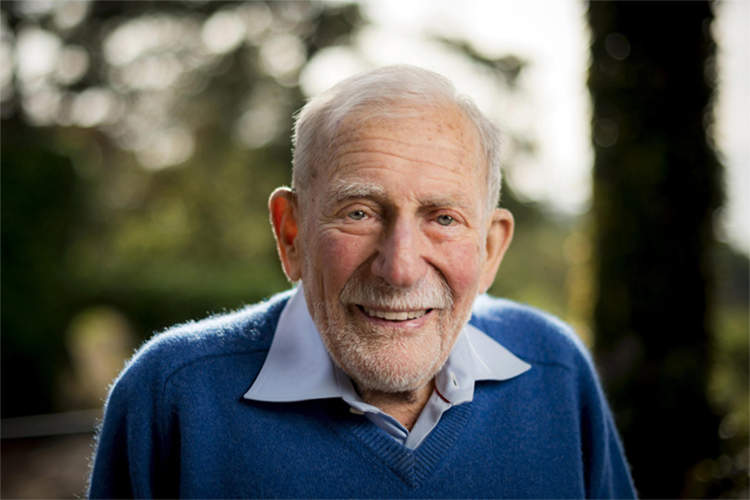 Walter Munk: a genius of the oceans | Photo: Jepsen/UC San Diego