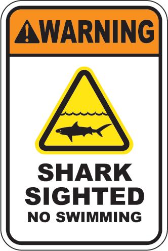 Warning: Shark Sighted