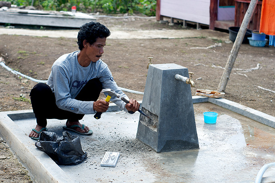 Water: a treasure for some Indonesian communities