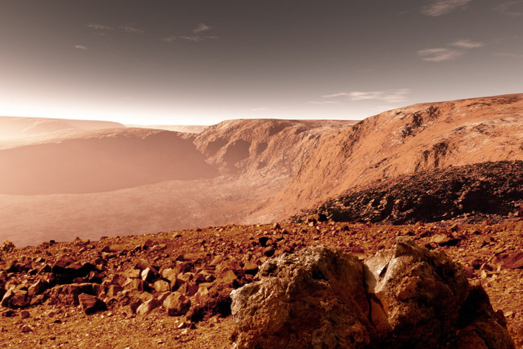 Mars: not as dry as we thought it was