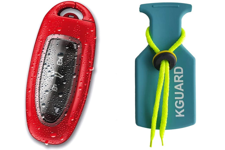 KeyFender Waterproof Car Key FOB Case and KGuard Waterproof Bag