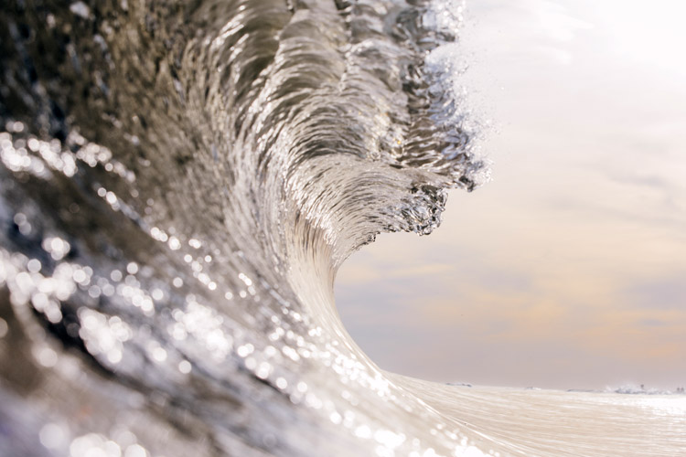 Waves: the fear of waves is called cymophobia | Photo: Shutterstock
